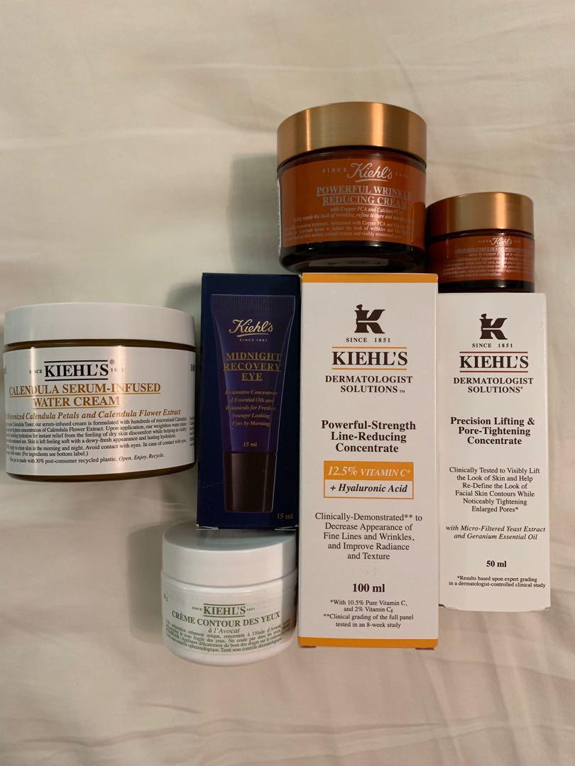 Kiehls BNWT 50% off Retail Individually Priced ( Description Below)