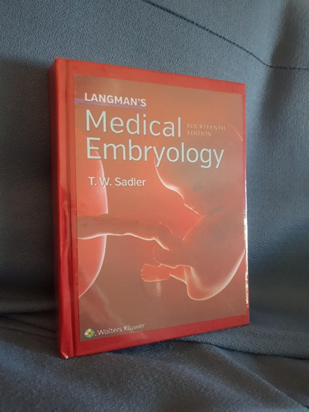 Langman's Medical Embryology 14th Edition med medicine medical books first year