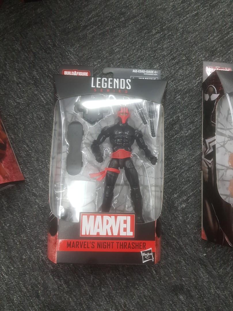 Hasbro Marvel Legends Spider-Man Night Thrasher With Kingpin BAF 6 Inch Figure