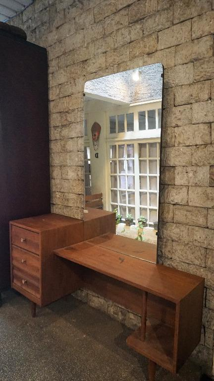 Mid Century Modern Narra Foyer Table Dresser Antiques Antique Furniture On Carousell