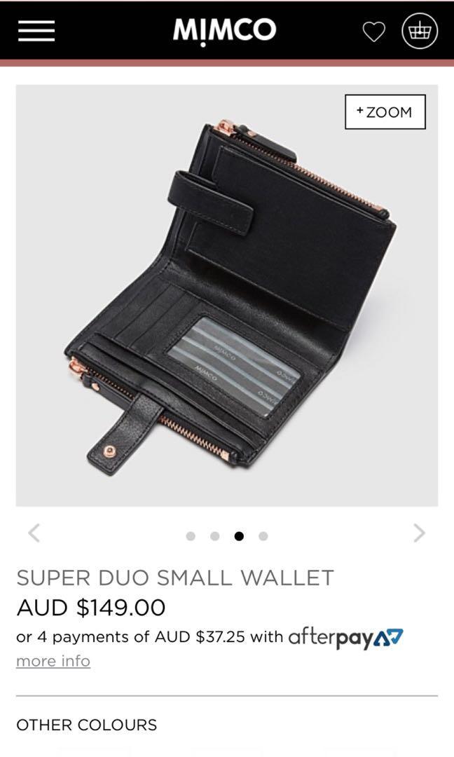 Mimco duo wallet
