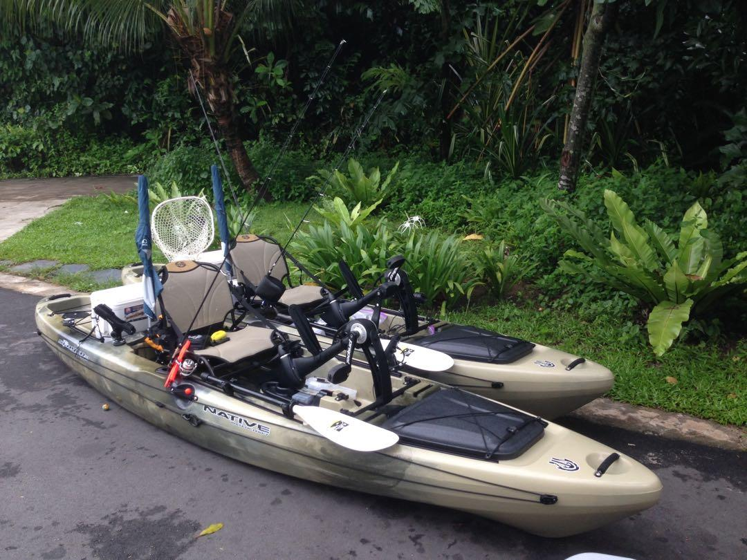Native watercraft slayer 13 fishing kayak, Everything Else