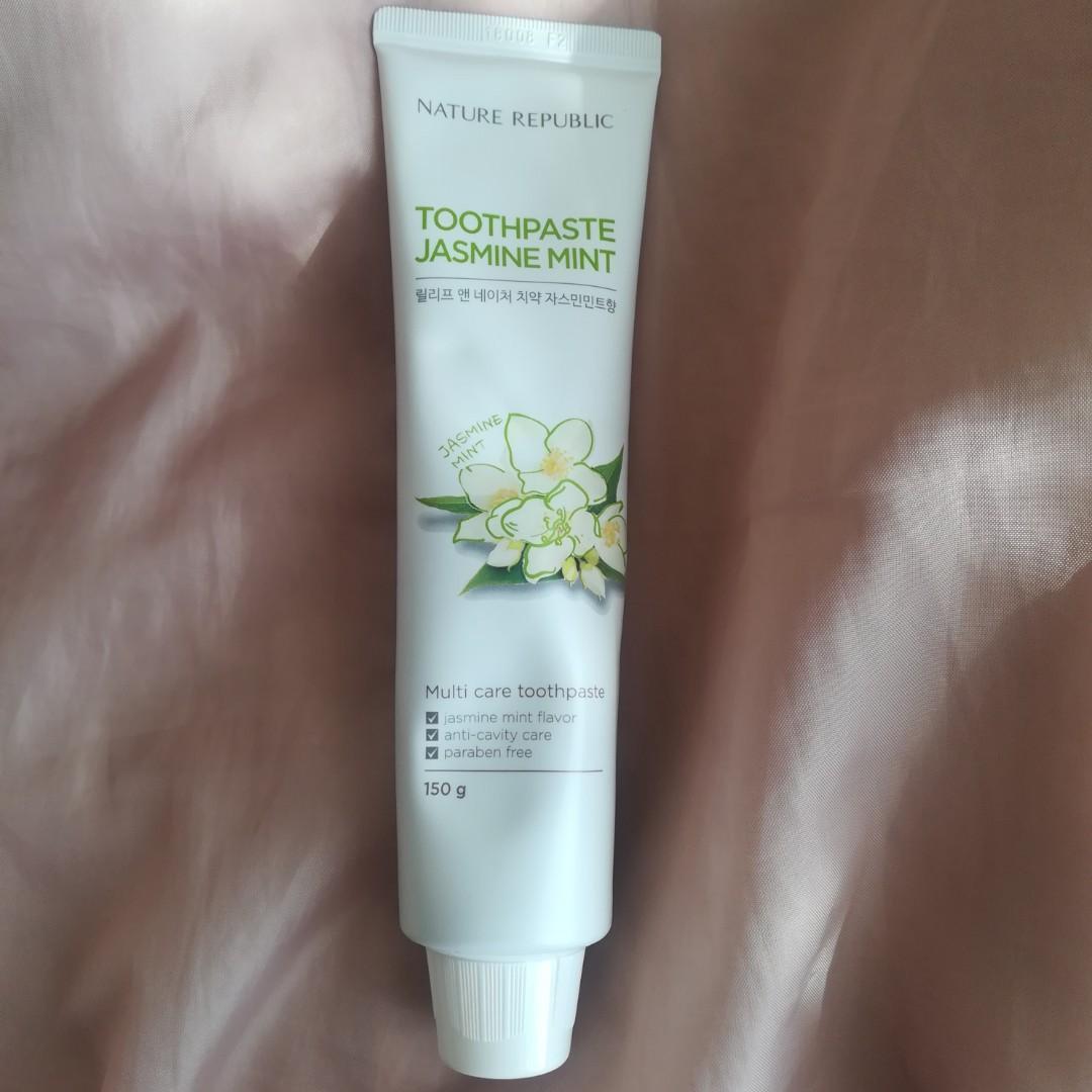 Nature Republic Jasmine Mint Toothpaste