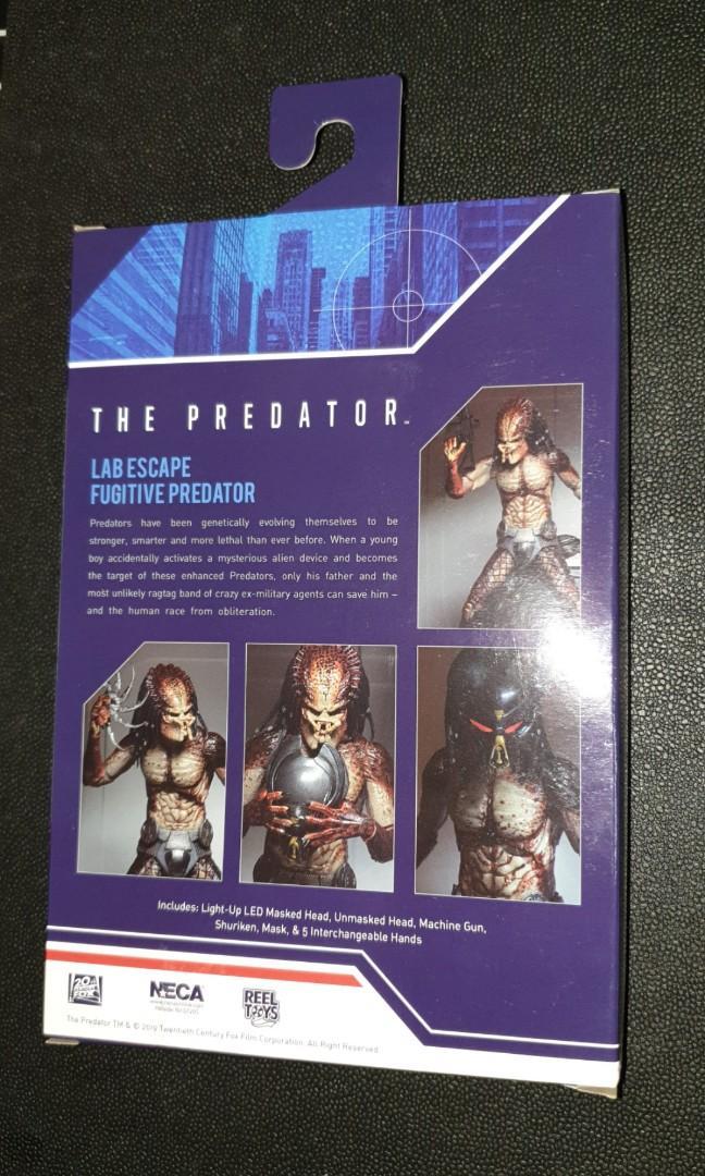Neca fugitive lab escape predator, Toys & Games, Bricks