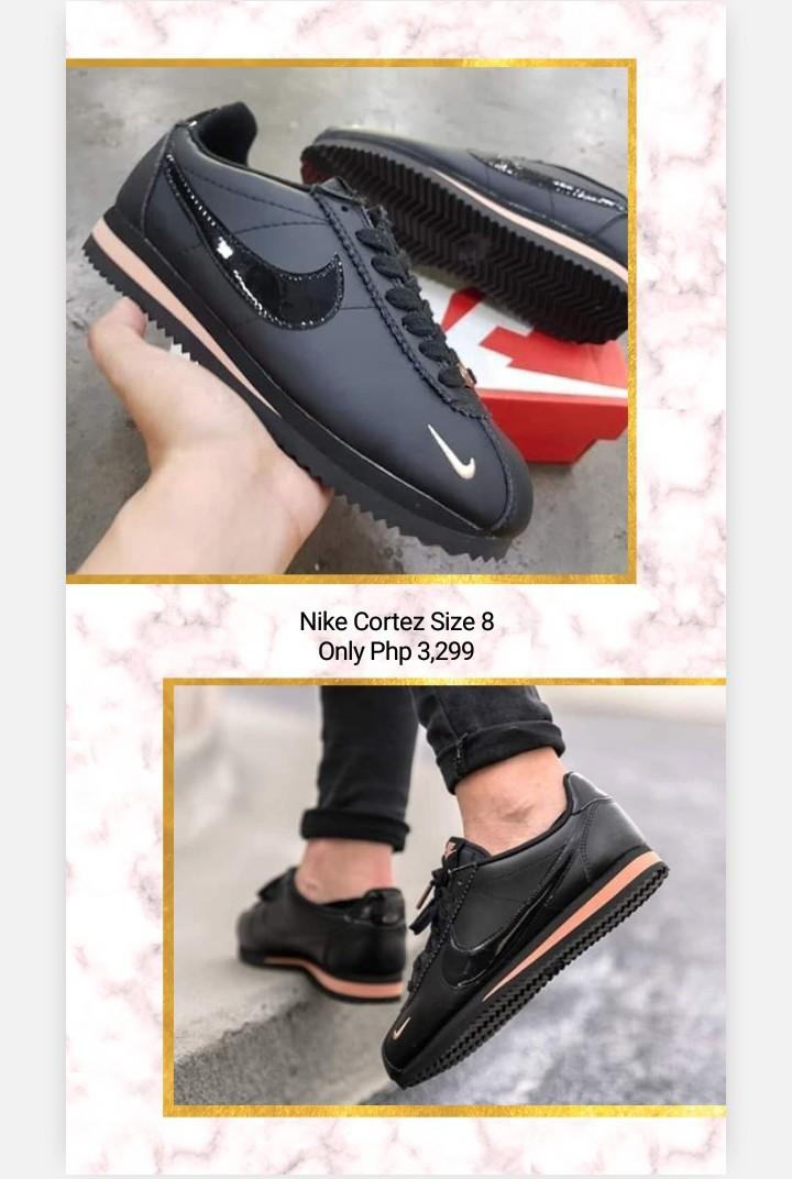 Nike Cortez (black \u0026 pink), Women's