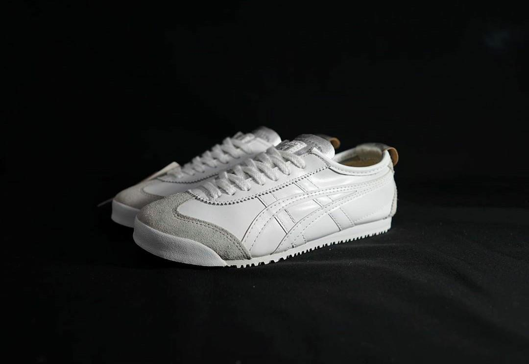 Onitsuka Tiger White Leather Cream