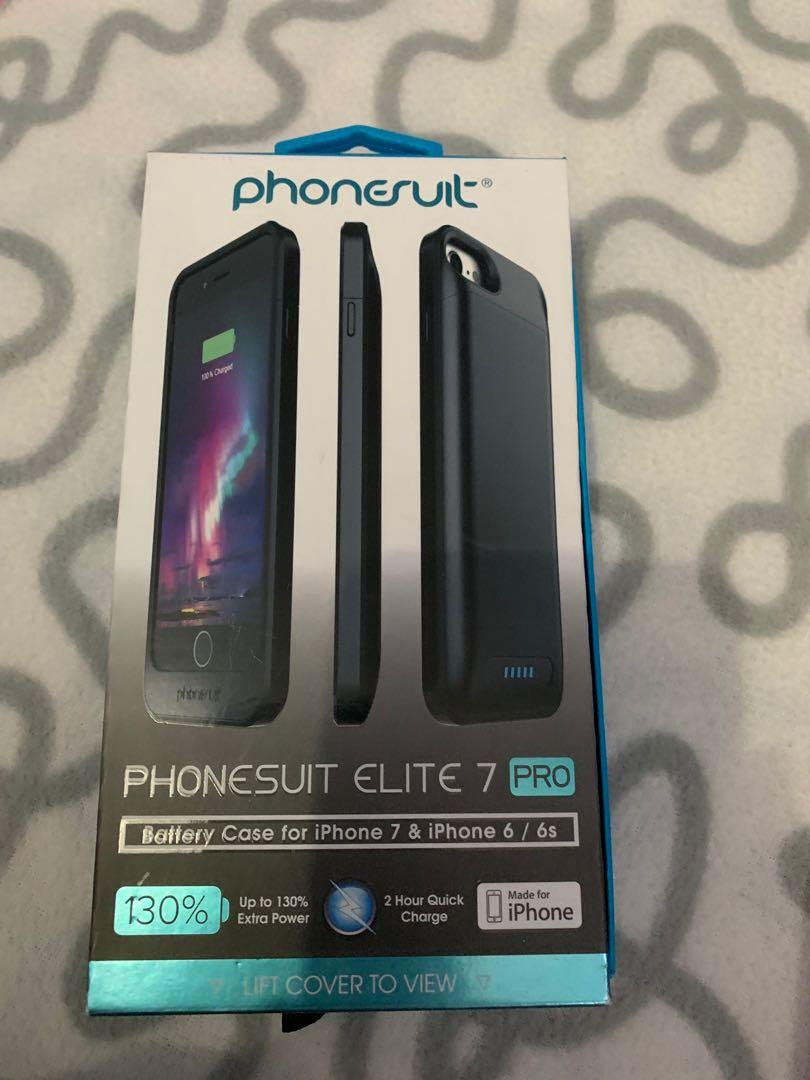 brand new b75db a3c52 Phonesuit Elite 7 PRO 130% - Battery Case, Mobile Phones & Tablets ...