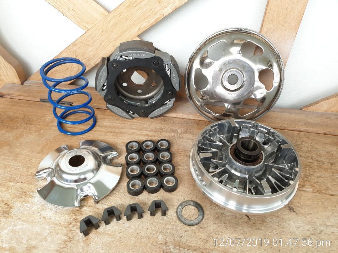 Polini & Malossi CVT Kit (XMAX 300/250), Motorbikes