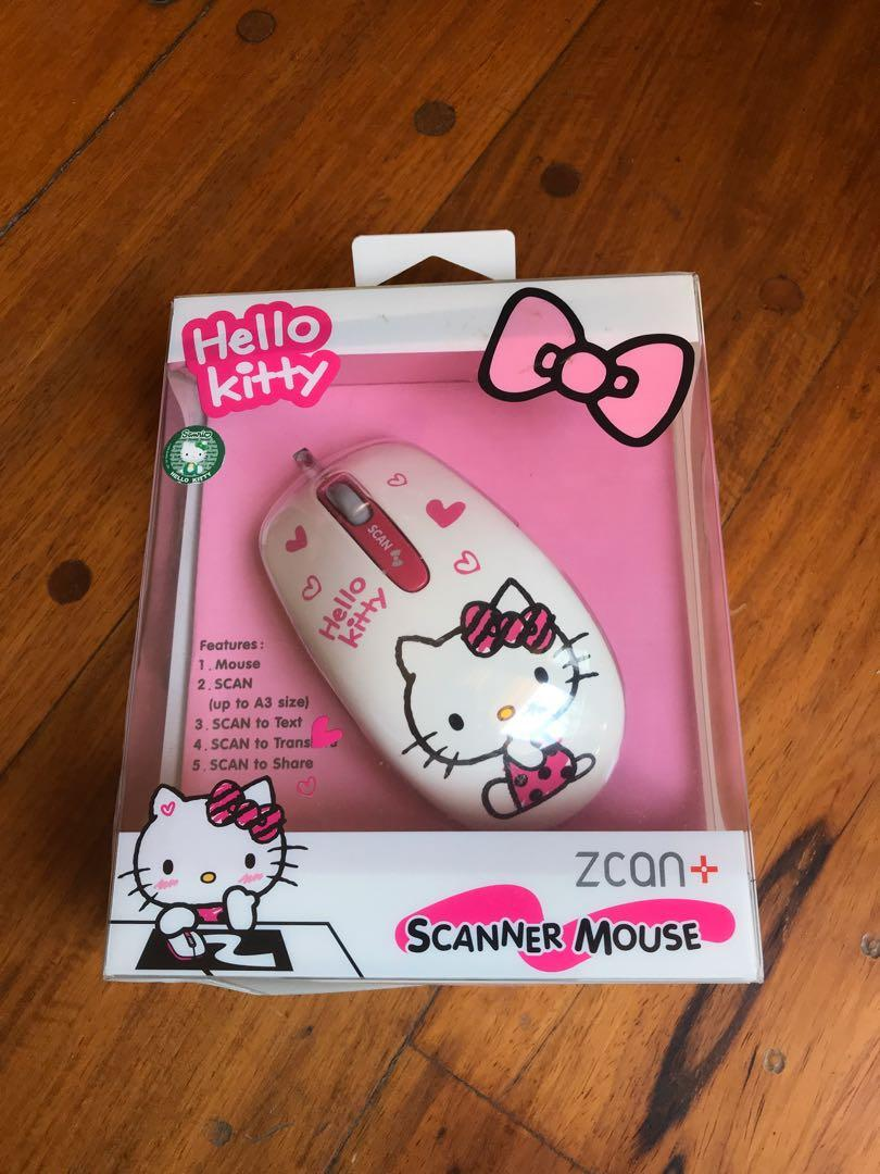 Scanner Mouse Hello Kitty edition