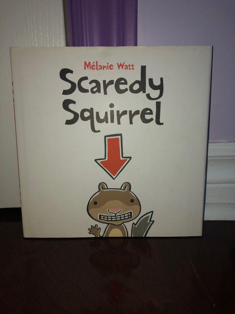 Scaredy Squirrel- original book HARDCOVER