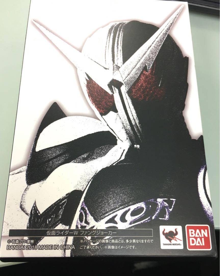 SHF 真骨雕 幪面超人 Kamen Rider W Fang Joker FJ 全新日版
