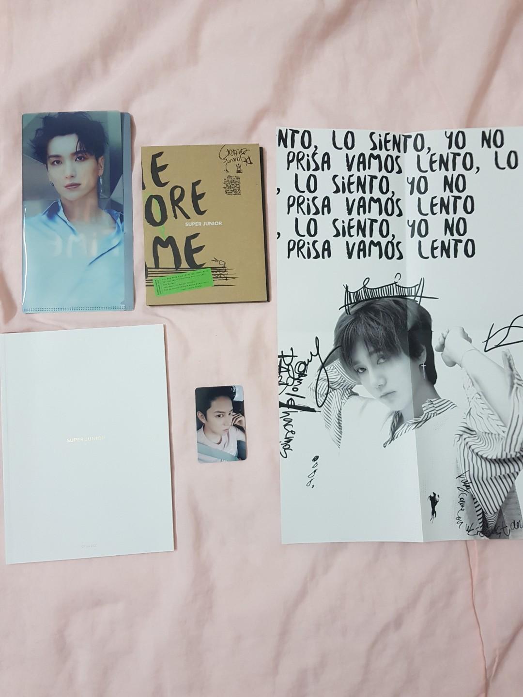 Super Junior special mini album- One More Time (included photocard + mini poster + mini file )