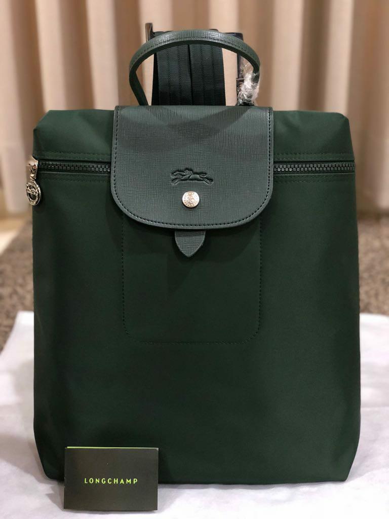 tas punggung Longchamp Le Pliage neo ransel backpack fashion wanita #joinjuli