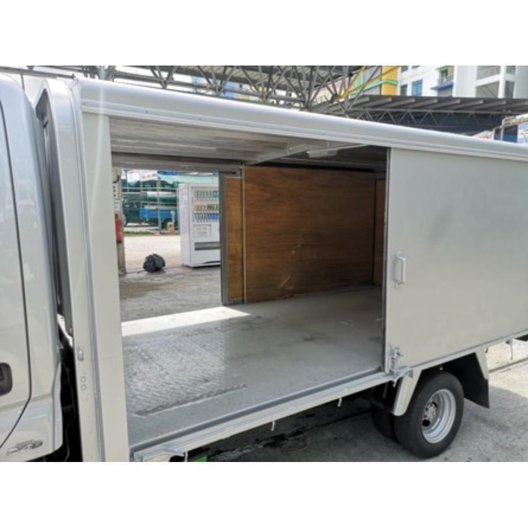 Toyota Dyna Cabin Height Box