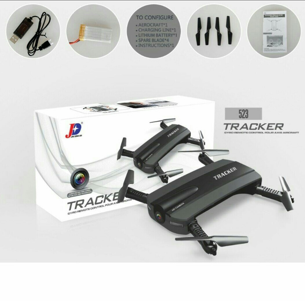 JXD 523 Tracker Gyro Remote Control Four Axis Aircraft drone