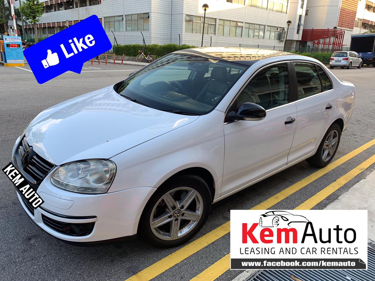Sporty VOLKSWAGEN JETTA SPORT 1.4A Twin Charged 160HP FAST & SPACIOUS