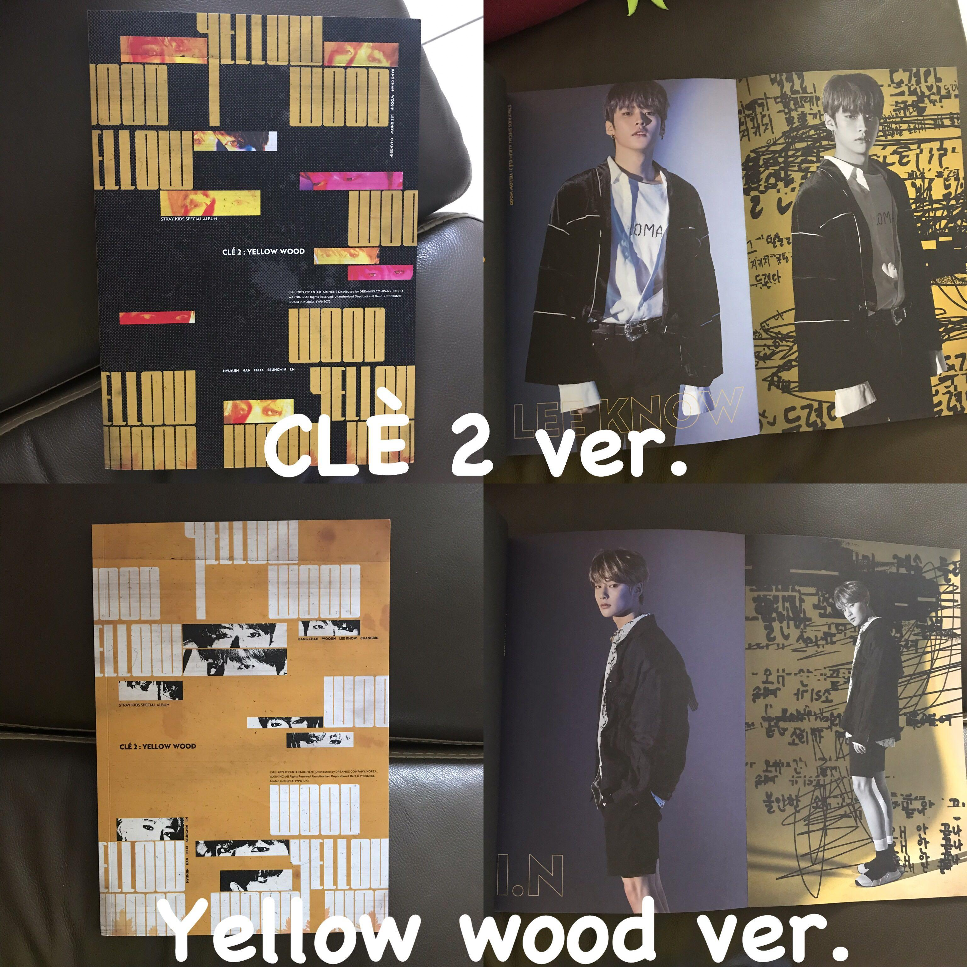[Price reduced] Stray kids yellow wood unsealed album