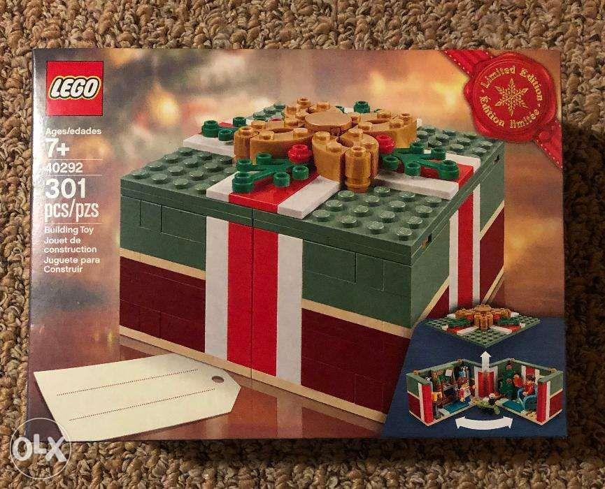 Brand New Limited Edition Lego 40292 Christmas Gift Box