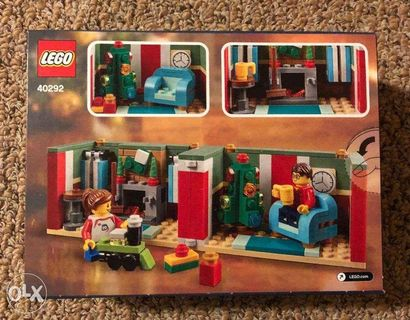 NEW LEGO HOLIDAY EXCLUSIVE 40292 LIMITED EDITION CHRISTMAS GIFT BOX FREE S/&H
