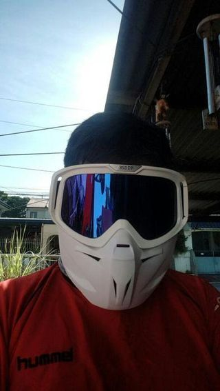 Mask for rider for airsoft etc