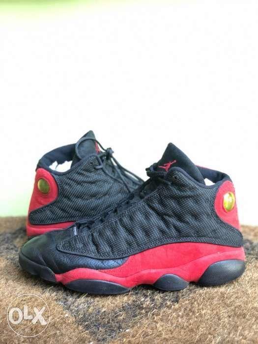 quality design 36d62 69b73 Nike Air Jordan 13 XIII Retro Black Red BRED 2013 Shoes Sz ...