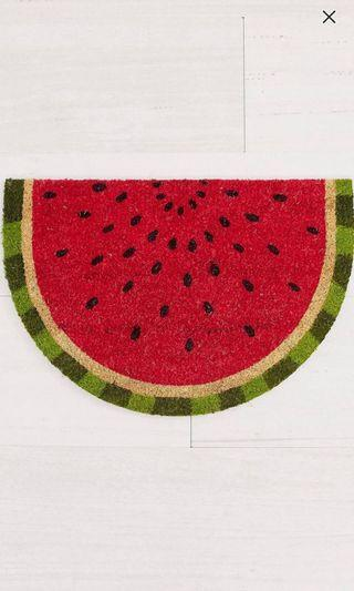 Native lifestyle watermelon doormat