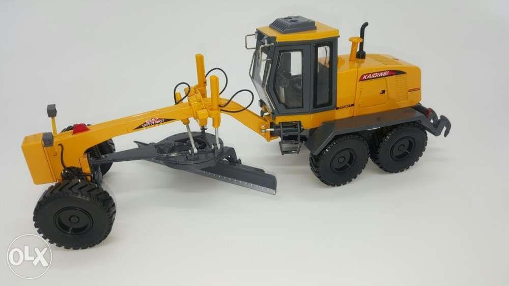 Grader diecast metal construction toy