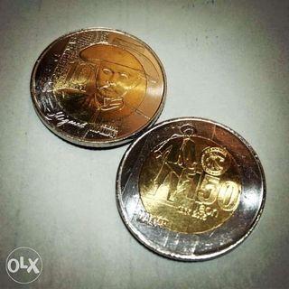 5 and 10 Philippine Peso Commemorative Coins