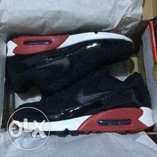 Original Nike Air Max 90 Essential Bred Patent