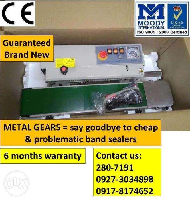 Horizontal Continuous Band Sealer Sealing Machine HiGH