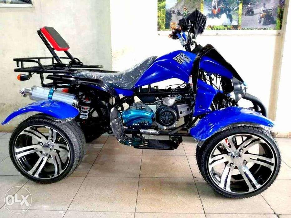 ATV 150cc Upbeat CVT Dual Muffler with Fender, Motorbikes