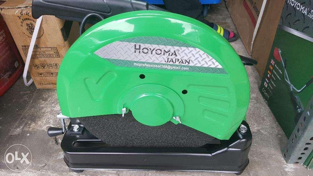 Hoyoma Japan 2000W Cut Off Saw Chop Saw Metal Cutting
