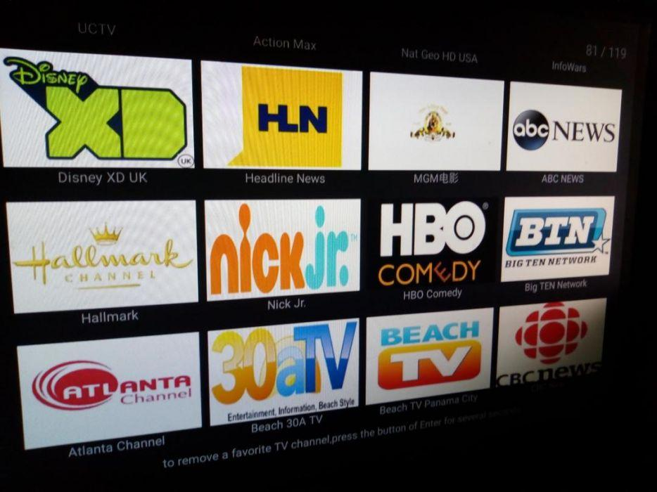 Latest MXQ PRO Android Smart TV Box Loaded Live Channel