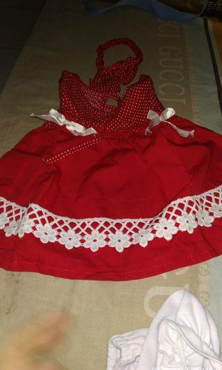 Jual dress bayi Newborn