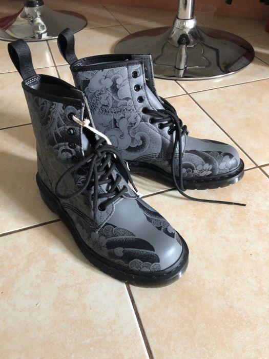 Doc Martens Boots Japanese 1400 Tattoo Ot On Carousell