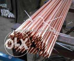 Ground rod copper plated