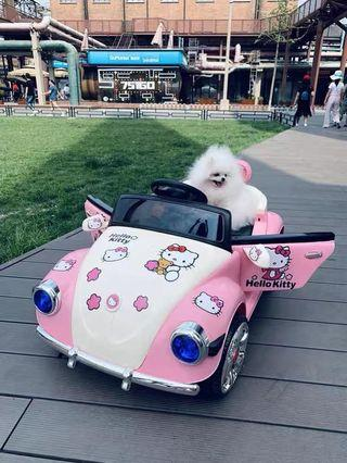 Hello Kitty Ride On Car for Kids