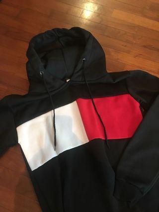 colourblock hoodie