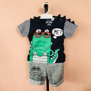 CROCODILE TEE SET