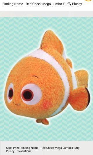 Red Cheeks Mega Nemo Plushie