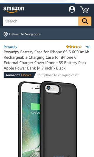 🚚 IPhone 6/6s charging case