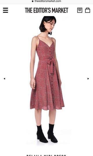 The editor's market TEM delaila midi dress