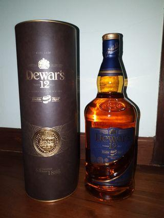 Dewar's 12 1L Double Aged Whiskey