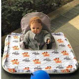 BLW tray poppy seat cover high chair cover