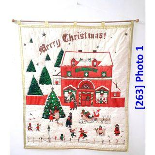 [263] Pre-Season SALE: Quilted Christmas Wall Deco