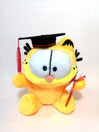 Garfield the Cat Graduation Convocation Bear Gift Plush