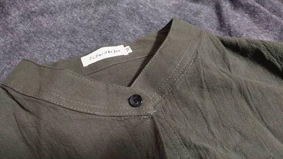日系圓領襯衫