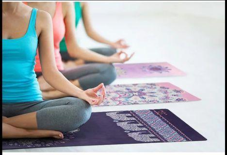 瑜珈防滑毛巾