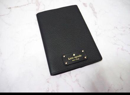 kate spade 護照 passport holder 有塵袋