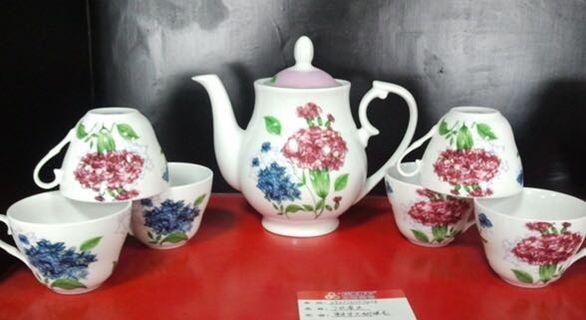 Chinese Tea Set 7 pcs  (new)